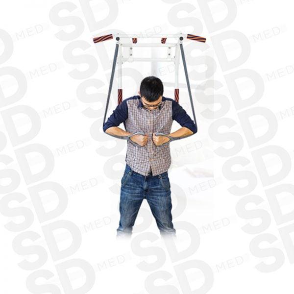 barra mf dominadas estilo iron gym 3