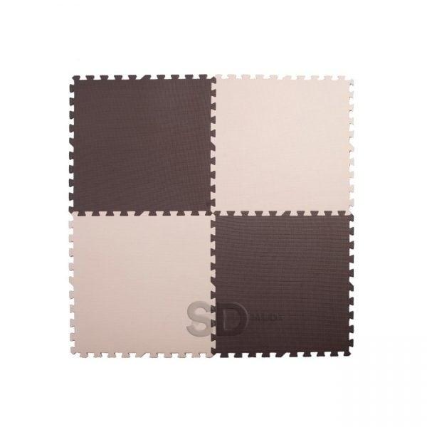 3c82384291b Pack 8x Tatami alfombra madera 14 mm – 62 x 62 cm – SD MED