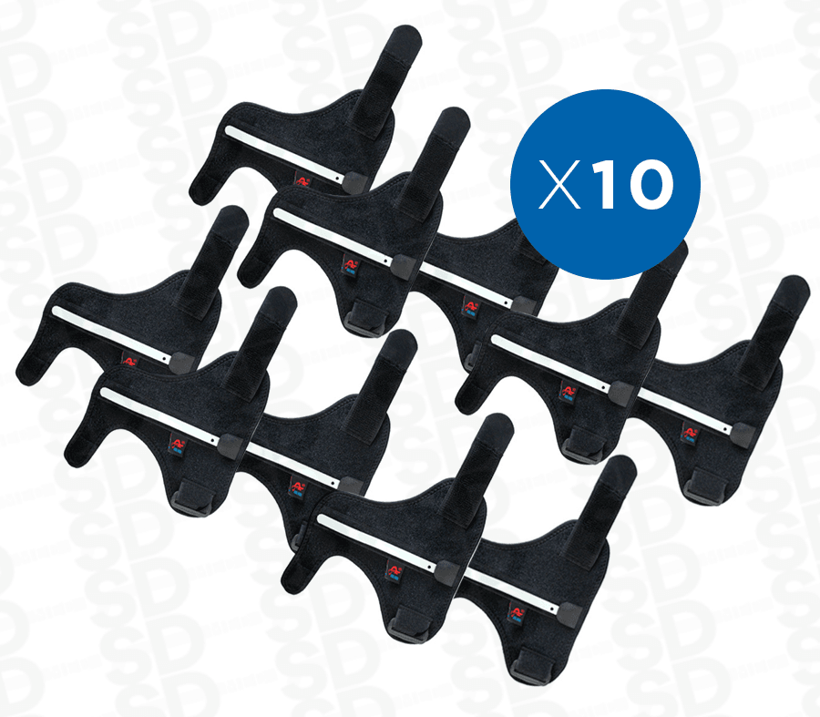 PACK 10x Inmovilizador para dedo pulgar ortopédico – SD MED 10337115586f