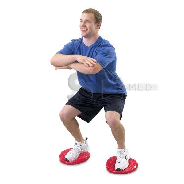 Pack 3x Medio Balón Propiocepcion Bosu de Equilibrio – SD MED f1763cc29cc6