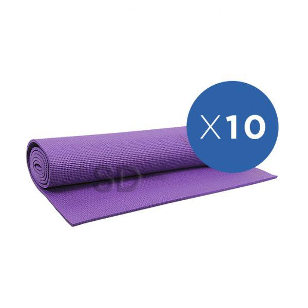 b9973b33794 Pack 10x mat de yoga 4 mm – goma eva – SD MED
