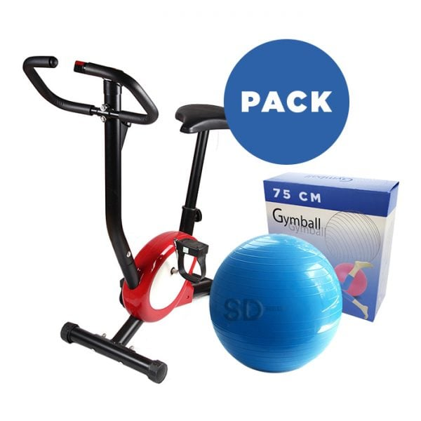 pack-bicicleta-estatica+balon-75cm
