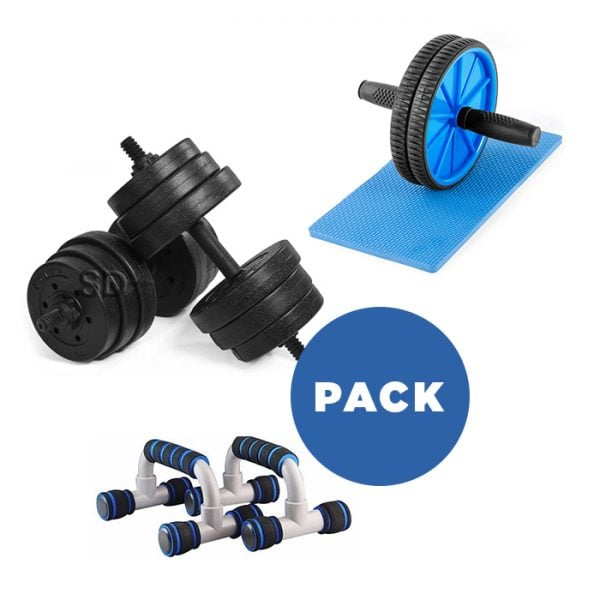 pack-mancuernas-plasticas+discos-cementados+push-up+ab-wheel2