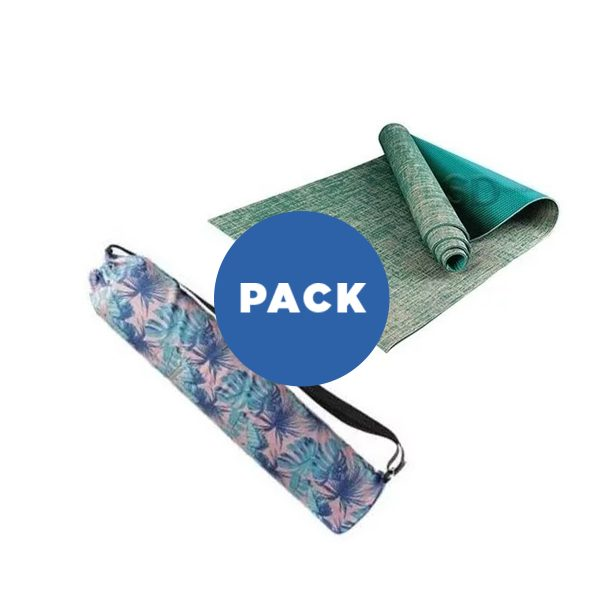Mat De Yoga 6 Mm Lino + Bolso Diseño Impermeable