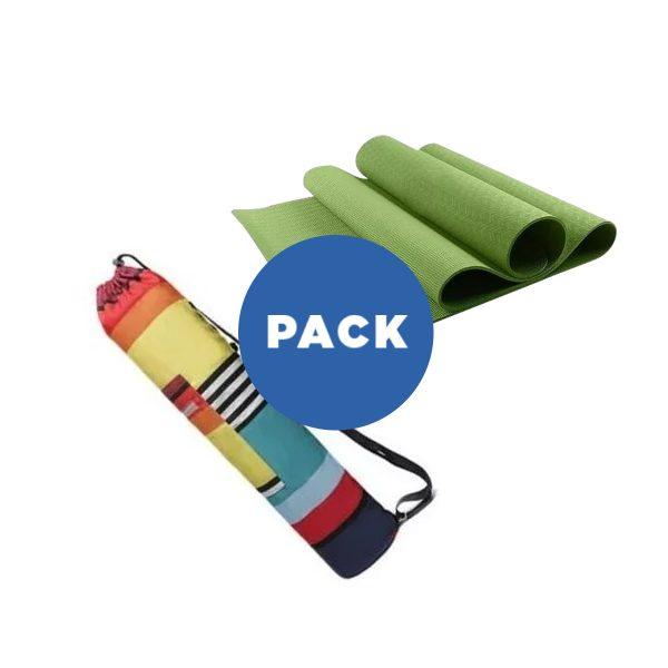 Mat De Yoga 6 Mm TPE+ Bolso Diseño Impermeable